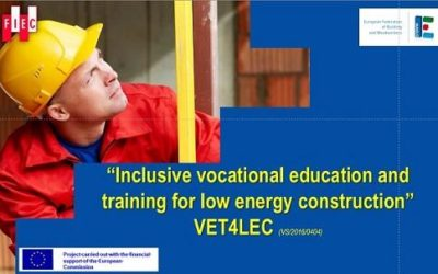 VET4LEC Inclusive Vocational Education and Training for Low Energy Construction