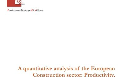A quantitative analysis of the European Construction sector Productivity, investment and competitiveness